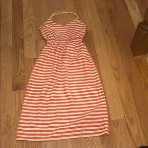 Urban Outfitters XS Stripe Midi Dress